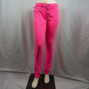 Neon Hot Pink Rag & Bone Jeans